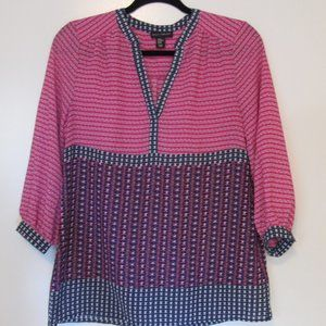 Willi Smith Size Xsmall light weight blouse